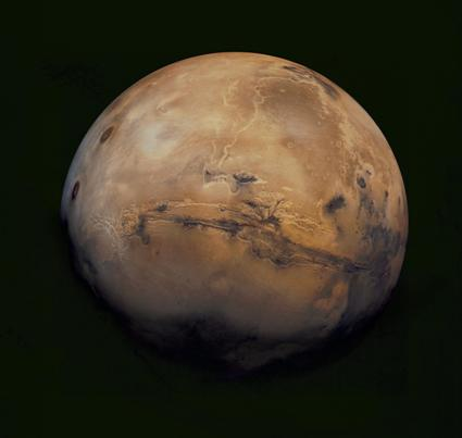 MARS - NASA JPL Image - Viking 1 Orbiter