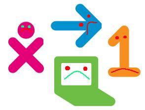 Sad logo for OLPC layoff.